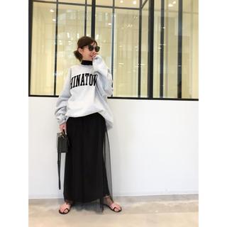 アパルトモンドゥーズィエムクラス(L'Appartement DEUXIEME CLASSE)のMAISON MARGIELA TULLE スカート(ロングスカート)