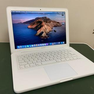 Apple - 本日限649MacBook 13白 SSD240 Office Win10付
