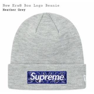 Supreme - New Era Bandana Box Logo Beanie