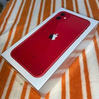 iPhone - iPhone11 256GB レッド 新品、未開封、未使用
