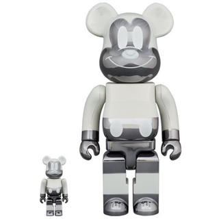 メディコムトイ(MEDICOM TOY)のBE@RBRICK fragment MICKEY MOUSE 100%400%(その他)