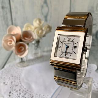 サンローラン(Saint Laurent)の【美品】Yves Saint Laurent  腕時計 ボーイズ スクエア(腕時計(アナログ))