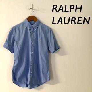 ラルフローレン(Ralph Lauren)のRALPH LAUREN  カラーポニー ボタンダウンシャツ ライトブルー(シャツ/ブラウス(長袖/七分))