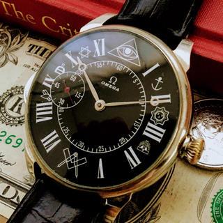 オメガ(OMEGA)の#753【OH済の美品】メンズ 腕時計 動作良好 オメガ 懐中時計 アンティーク(腕時計(アナログ))