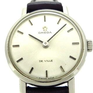 オメガ(OMEGA)のオメガ 腕時計 デビル プラ風防 レディース(腕時計)