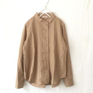 チャイルドウーマン(CHILD WOMAN)のCHILD WOMAN ダブルボタンシャツ(シャツ/ブラウス(長袖/七分))