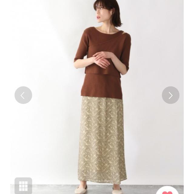LOWRYS FARM(ローリーズファーム)の【新品】LOWRYS FARM ペイズリースカート レディースのスカート(ロングスカート)の商品写真