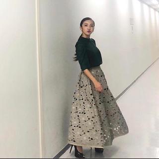 Ameri VINTAGE - Ameri vintage カットワーク フラワー スカート