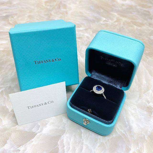 Tiffany & Co.(ティファニー)の★Tiffany&Co.★ ソレスト サファイ ヤダイヤリング PT950 レディースのアクセサリー(リング(指輪))の商品写真