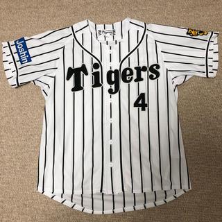 MIZUNO - 阪神タイガース 上本選手 ホームユニフォーム