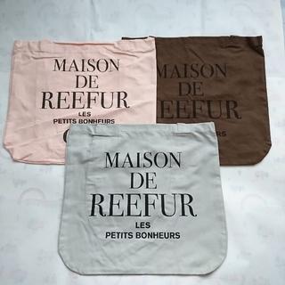 Maison de Reefur - メゾンドリーファー ショッパー3枚セット 梨花 エコバッグ