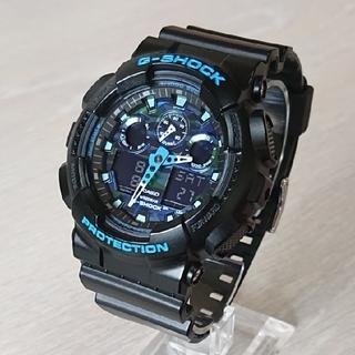 CASIO - 極美品【CASIO/G-SHOCK】アナデジ メンズ腕時計 GA-100CB