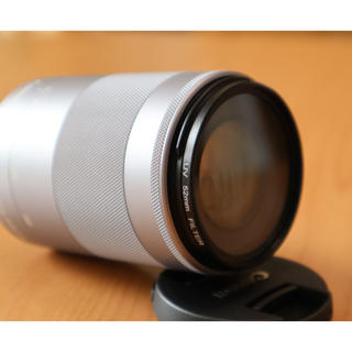 Canon - Canon EF-M 55-200mm F4.5-6.3 IS STM シルバー