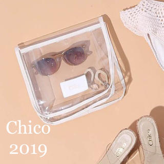 who's who Chico - 新品未使用🌼ロゴ入りクリアポーチ