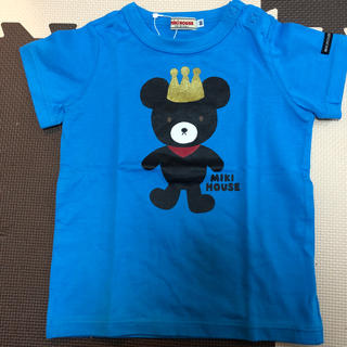 ミキハウス(mikihouse)の未使用 ミキハウス 半袖 90cm(Tシャツ/カットソー)