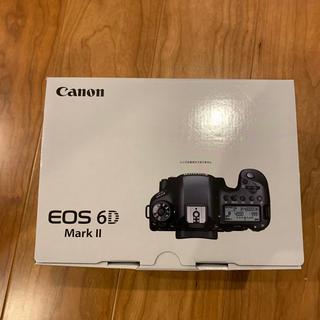 Canon - 【新品未使用】Canon EOS 6D MarkⅡボディ一台