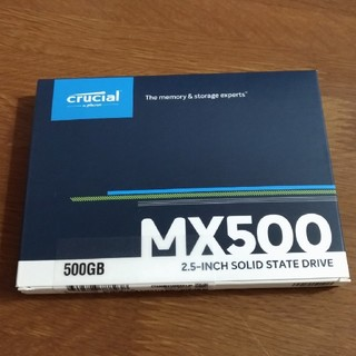 Crucial SSD MX500 500GB CT500MX500SSD1JP