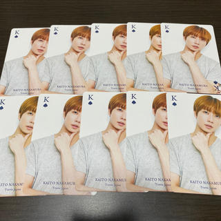TravisJapan 中村海人 ジャニーズJr カレンダー トランプ カード
