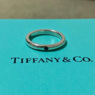 Tiffany & Co. - ティファニー スタッキング バンド リング ルビー 指輪 7号 8号