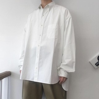 UNUSED - NEON SIGN 19SS B.D. WORK SHIRT LS 白シャツ