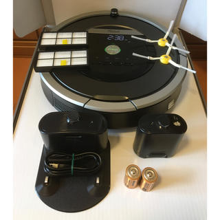 アイロボット(iRobot)のルンバ871  大容量の新品バッテリーに交換済(掃除機)