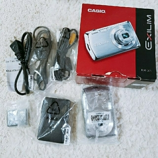 カシオ(CASIO)のCASIO  デジタルカメラ ジャンク品  充電器 充電池(コンパクトデジタルカメラ)