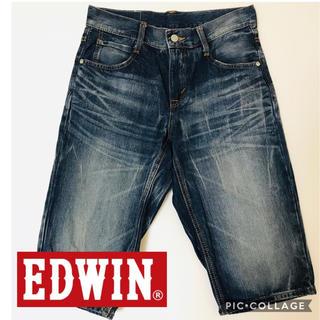 EDWIN - EDWIN デニム ハーフパンツ