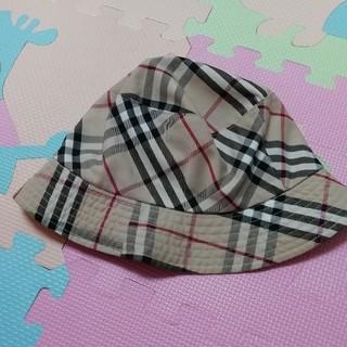 バーバリー(BURBERRY)のリバーシブル帽(帽子)