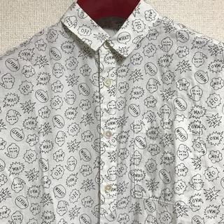 ディディジジ(didizizi)のdidizizi  吹き出し シャツ(シャツ/ブラウス(半袖/袖なし))