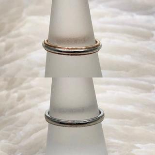ミキモト(MIKIMOTO)の★MIKIMOTO★ ペアリング 結婚指輪 PT950 K18(リング(指輪))