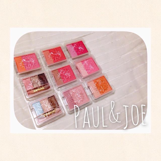 JILLSTUART(ジルスチュアート)のPaul&joe /チーク&アイシャドウ コスメ/美容のベースメイク/化粧品(チーク)の商品写真