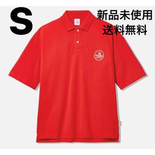 ジーユー(GU)のGU × STUDIO SEVEN ビッグポロ S RED(ポロシャツ)