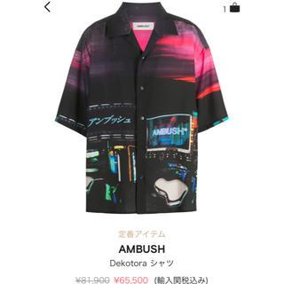 アンブッシュ(AMBUSH)のambush dekotora シャツ 20ss(シャツ)
