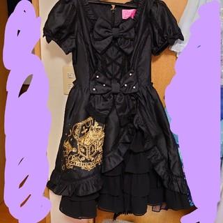 Angelic Pretty - Angelic Pretty☆秘密の宝箱ワンピース☆黒