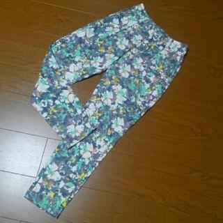ニッセン(ニッセン)のカジュアルパンツ 花柄パンツ ニッセン Mサイズ(カジュアルパンツ)