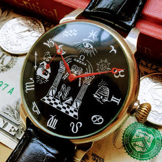 オメガ(OMEGA)の#754【OH済の美品】メンズ 腕時計 動作良好 オメガ 懐中時計 アンティーク(腕時計(アナログ))