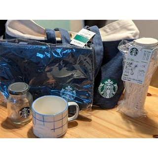 スターバックスコーヒー(Starbucks Coffee)のStarbucks 2018年福袋 (コーヒー豆以外)(トートバッグ)