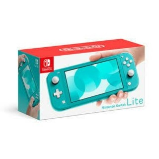 Nintendo Switch - switch lite ターコイズ