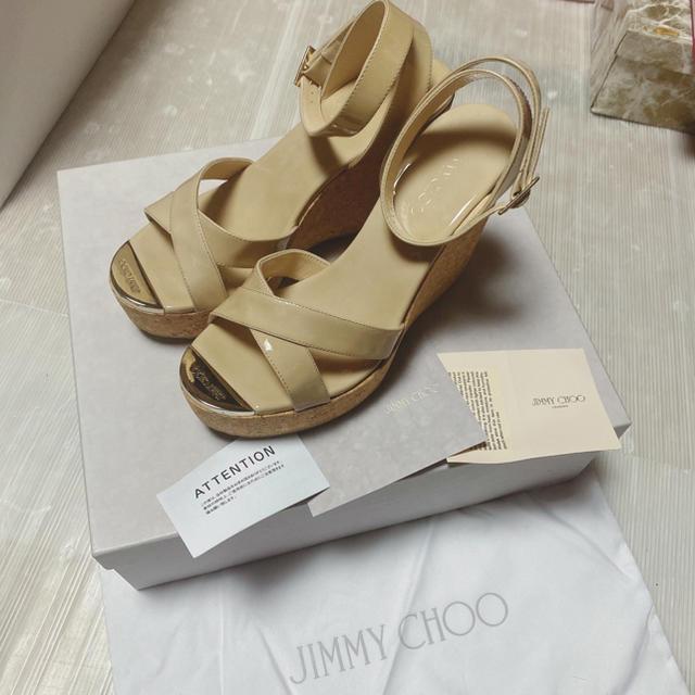 JIMMY CHOO(ジミーチュウ)のmiiii様専用!箱有 レディースの靴/シューズ(サンダル)の商品写真