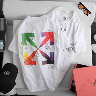 OFF-WHITE - Off white 新作 オフホワイト Tシャツ 1枚の値段