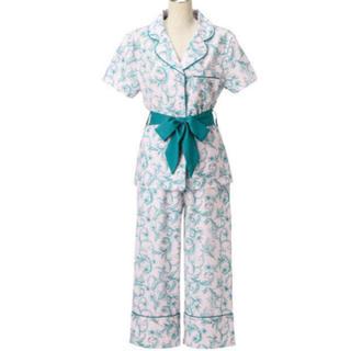 フランフラン(Francfranc)のフランフラン ルームウェア 巾着付き オーナメントフラワー パジャマ (ルームウェア)