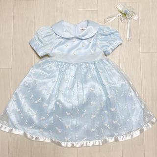 ファミリア(familiar)のワンピース ドレス  80 フォーマル 誕生日 シンデレラ ディズニー(セレモニードレス/スーツ)