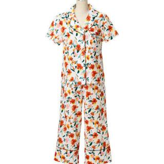 フランフラン(Francfranc)のフランフラン ルームウェア 巾着付き  ビビッドフラワー パジャマ (ルームウェア)