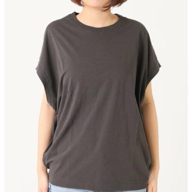 Plage(プラージュ)のリヨセルハイゲージTシャツ レディースのトップス(Tシャツ(半袖/袖なし))の商品写真