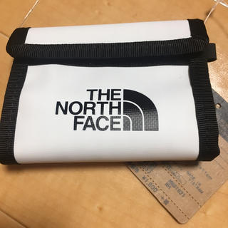 THE NORTH FACE - ノースフェイス 小銭いれ 白