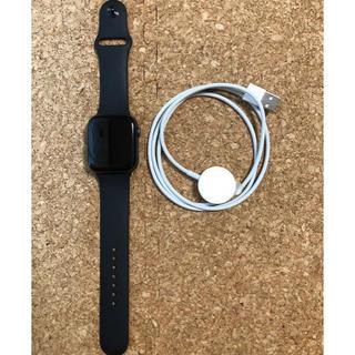 アップルウォッチ(Apple Watch)のApple Watch series4 44mm セルラー スペースグレー(腕時計(デジタル))