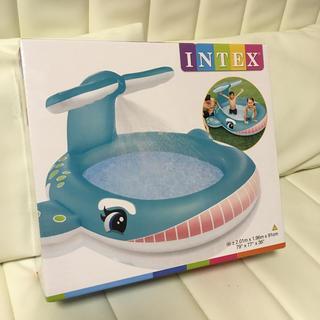 トイザらス - INTEX ホエールスプレープール くじら シャワープール 未使用