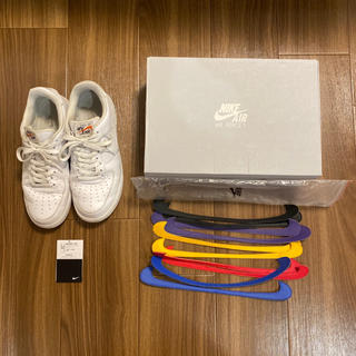 NIKE - NIKE AIR FORCE 1 QS SWOOSH PACK 27