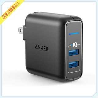 Anker PowerPort 2 Elite 各種対応 (ブラック)