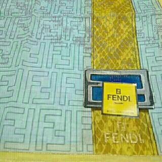 フェンディ(FENDI)のフェンディ新品ハンカチO 2枚組袋付き(ハンカチ)